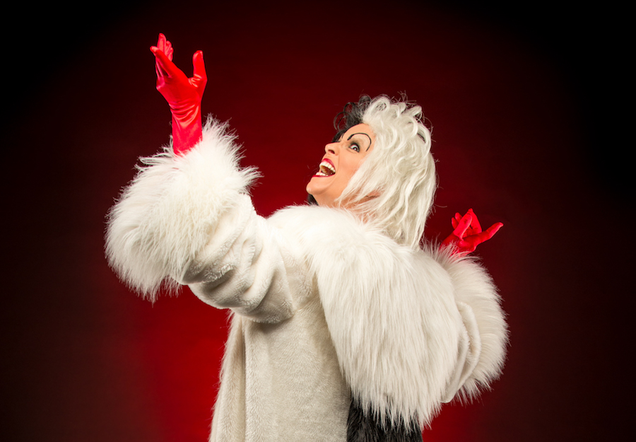 New at Mickey's Not-So-Scary Halloween Party: Cruella's Halloween Hide-a-Way!