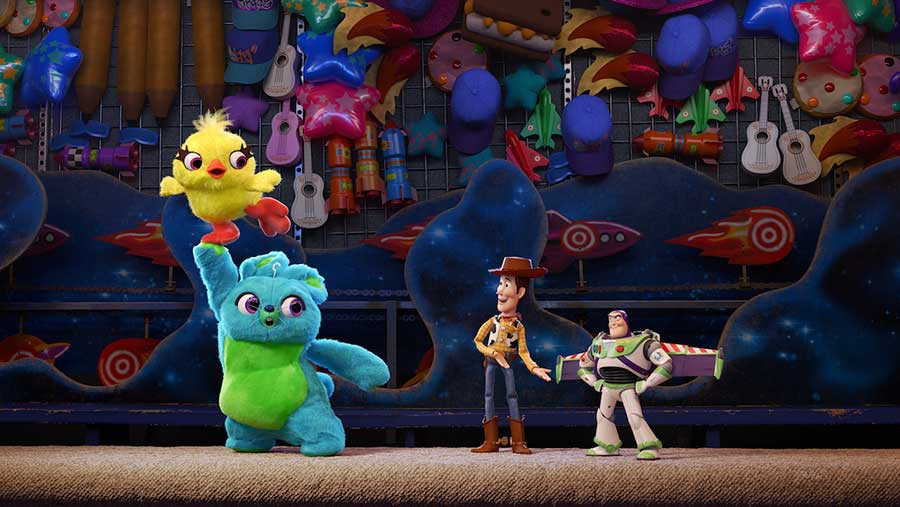 """Woody and friends from """"Toy Story 4"""""""