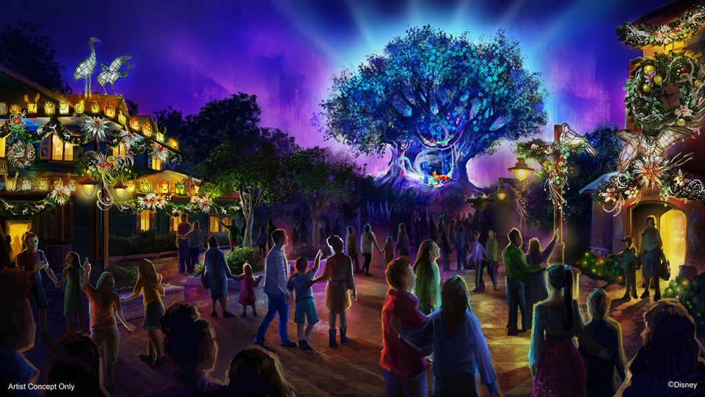 EARLY LOOK: Magical Holiday Happenings at All Four Walt Disney World Resort Theme Parks, Disney Springs in 2019
