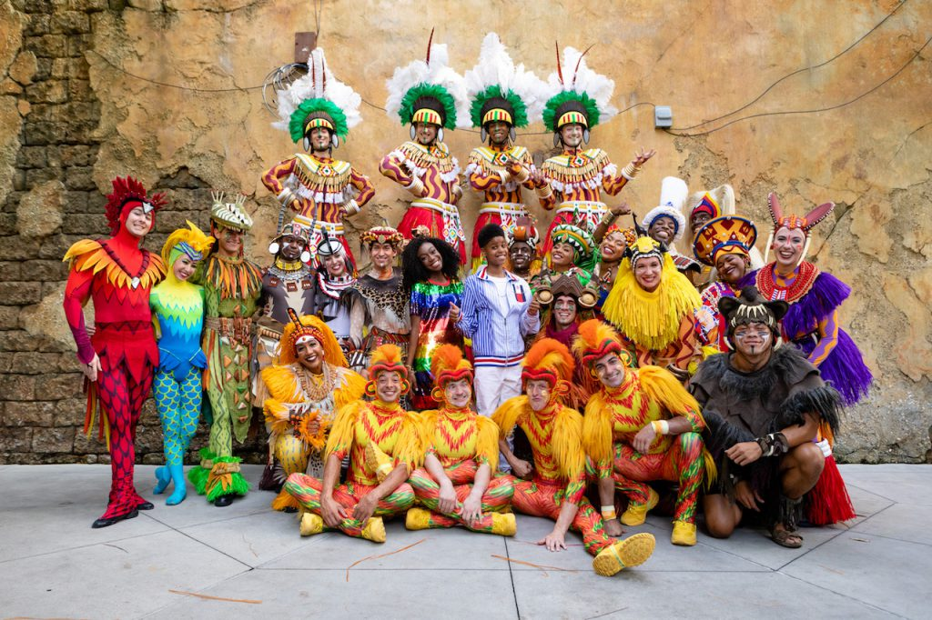 Stars of Disney's 'The Lion King' Surprise Guests at 'Festival of the Lion King'