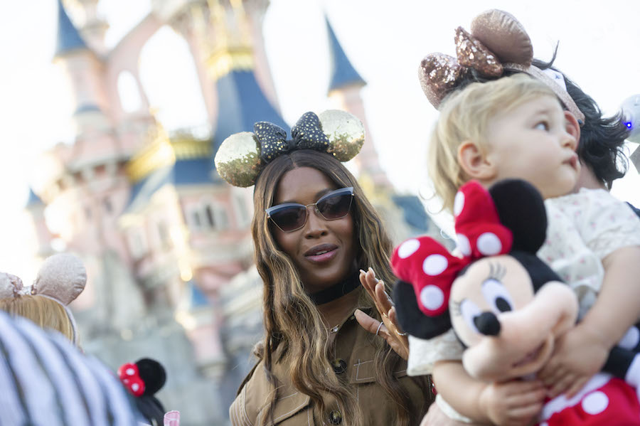 Top Fashion Models and Influencers Enjoy a Night of Festivities at Disneyland Paris