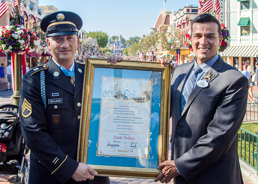 Disneyland Resort Honors Medal of Honor Recipient David Bellavia