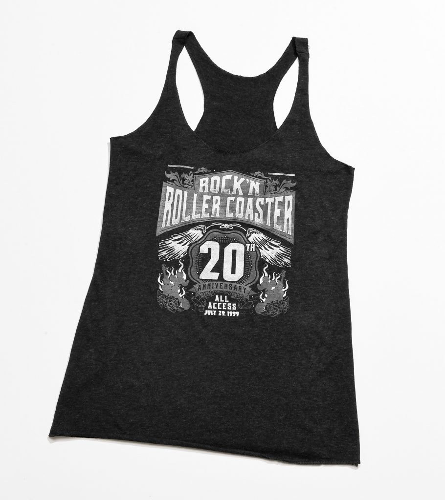 First Look: Rock Out With New Rock 'N' Roller Coaster 20th Anniversary Merchandise
