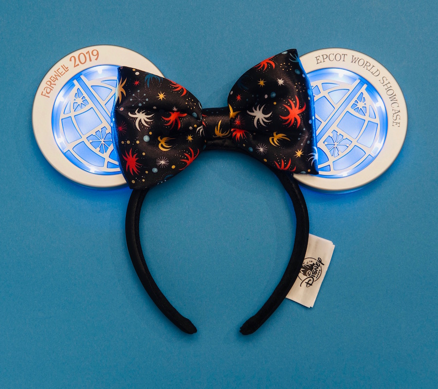 New Light-Up Headband Celebrating 'IllumiNations: Reflections of Earth' Now Available at Epcot