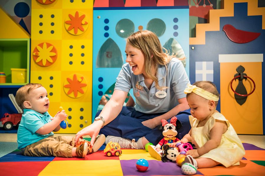 it's a small world nursery aboard Disney Cruise Line