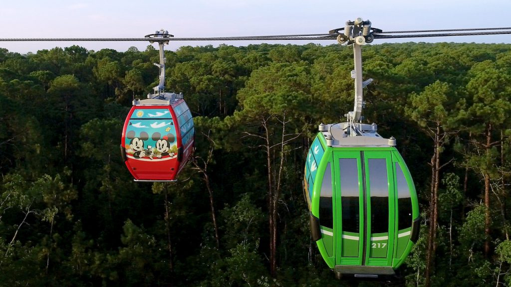 Disney Skyliner at Walt Disney World Resort