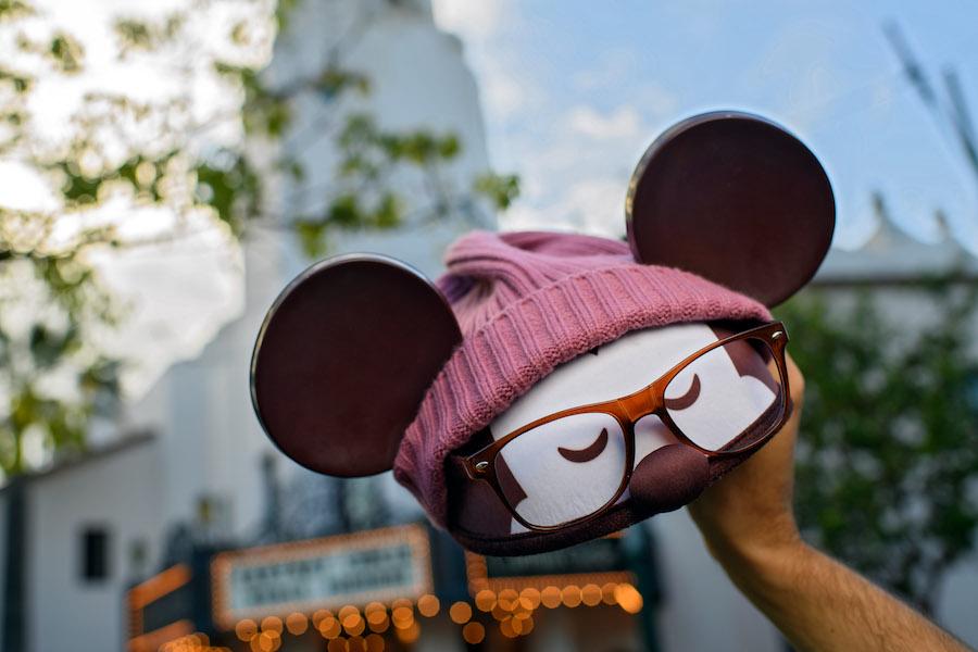 Hipster Mickey ear hat by Jerrod Maruyama