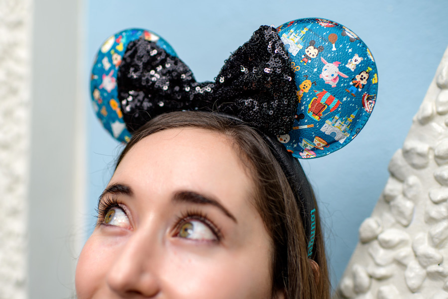 Loungefly Minnie ear headband