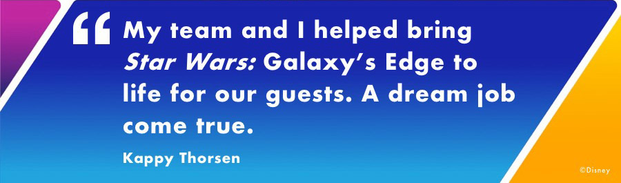 Women Behind the Magic: Kappy Thorsen Shares Her Journey From Family Business to Star Wars: Galaxy's Edge