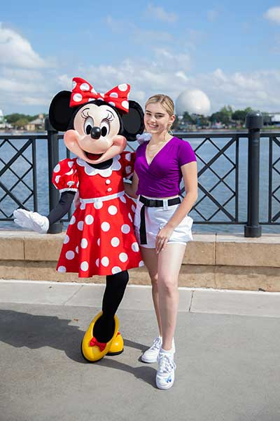 Actress-singer Meg Donnelly Kicks Off First Disney du Jour Dance Party Aug. 30 and 31 at the 24th Epcot International Food & Wine Festival