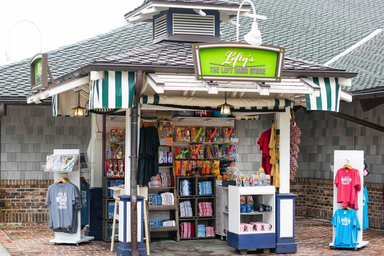Celebrate International Left Hander's Day at the Lefty's Kiosk at Disney Springs