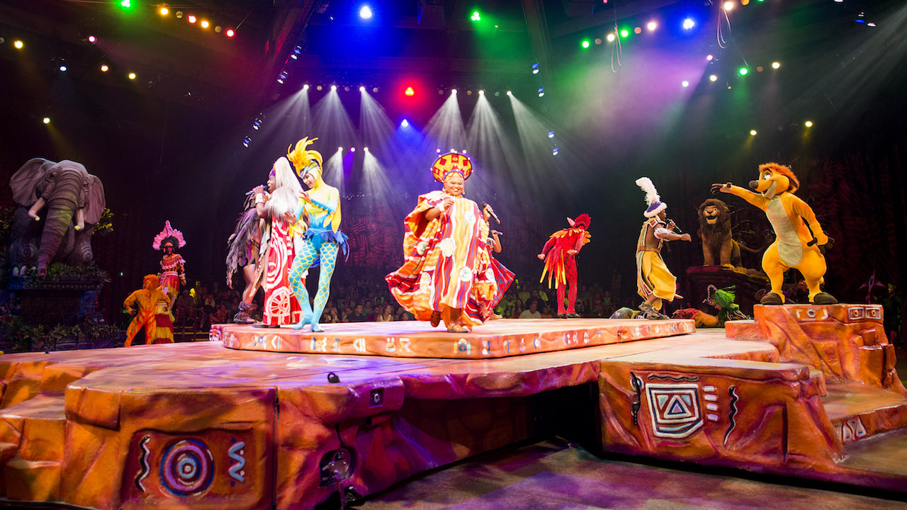 'Festival of the Lion King' at Disney's Animal Kingdom