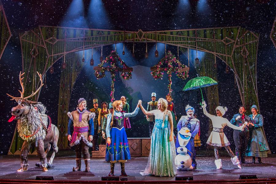 """Frozen, A Musical Spectacular"" aboard the Disney Wonder"