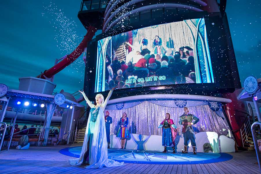 Voice of Young Anna Celebrates Upcoming 'Frozen 2' with Disney Cruise to Norway