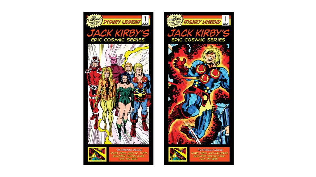 'The Eternals' – Jack Kirby's Cosmic Series Experience Now Open at Walt Disney Presents in Disney's Hollywood Studios