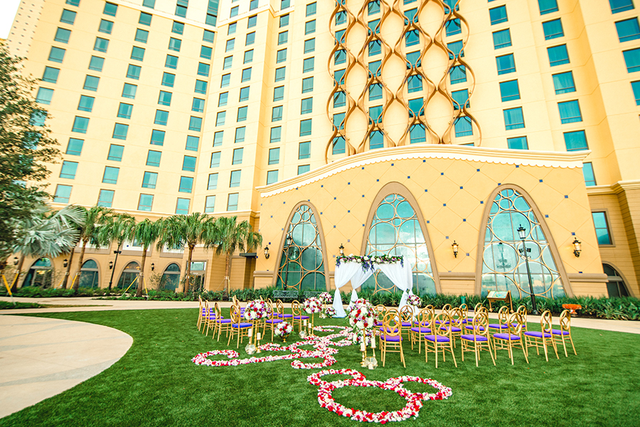 Introducing Brand New Disney Wedding Venues at the Newly Re-Imagined Disney's Coronado Springs Resort!