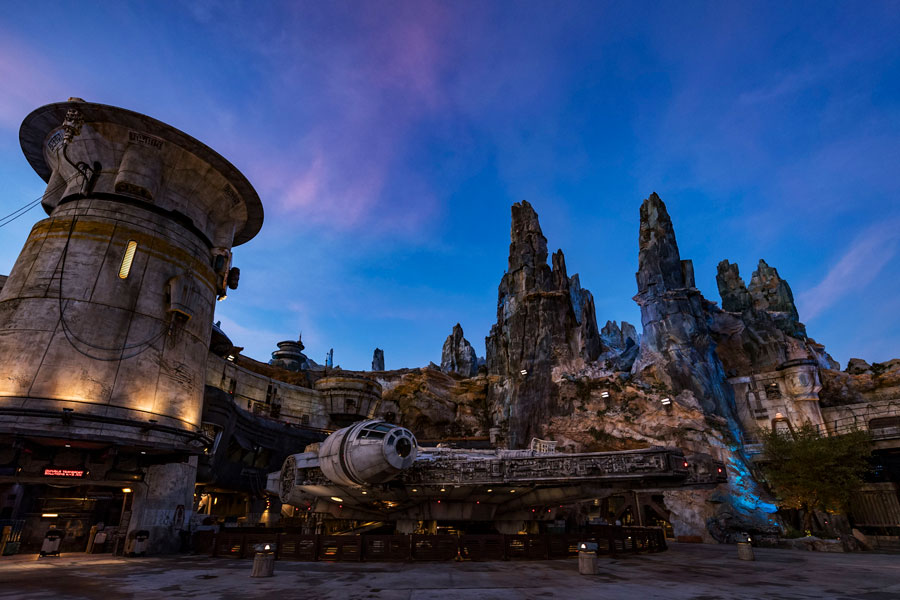 VIDEO: Spectacular Bird's-Eye View of Star Wars: Galaxy's Edge at Disney's Hollywood Studios
