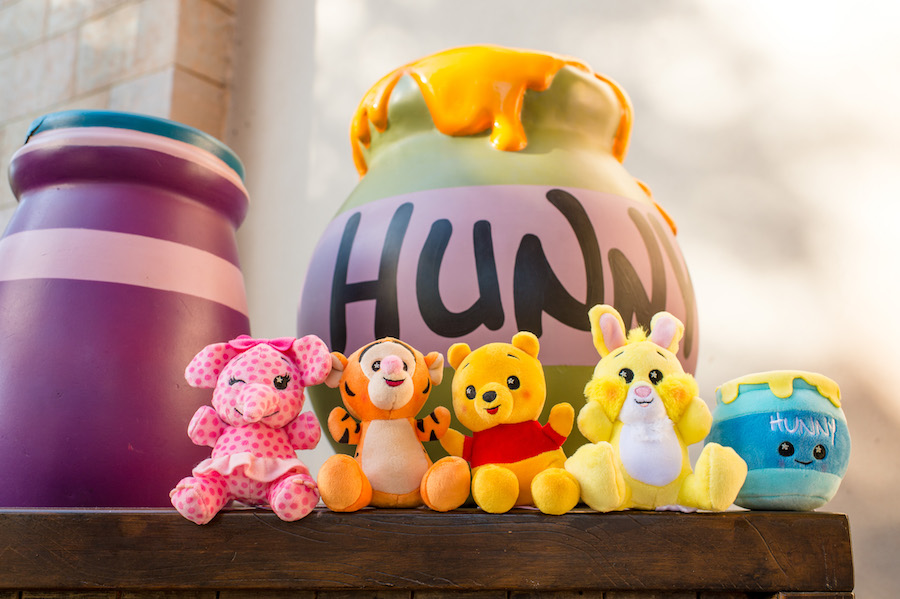 Venture into the Hundred Acre Wood for the Newest Wishables Collection