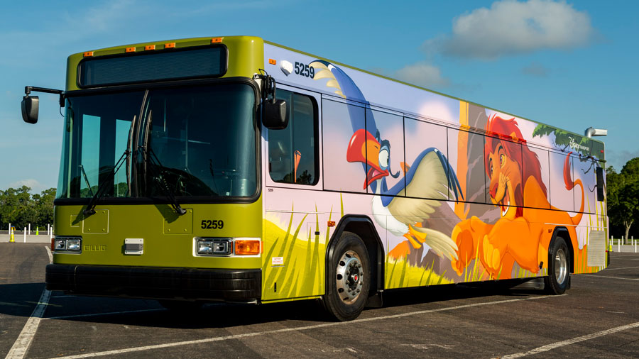 Buses Featuring Even More Character Join Disney Transportation