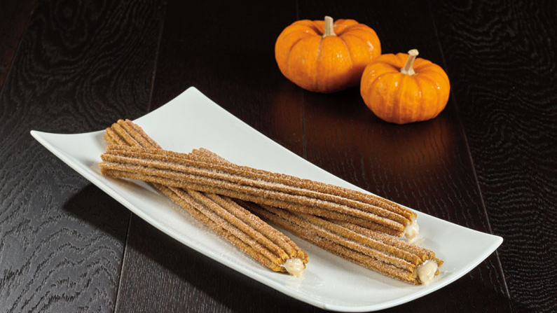 Pumpkin Spice Churros from Sunshine Churros for WonderFall Flavors at Disney Springs 2019