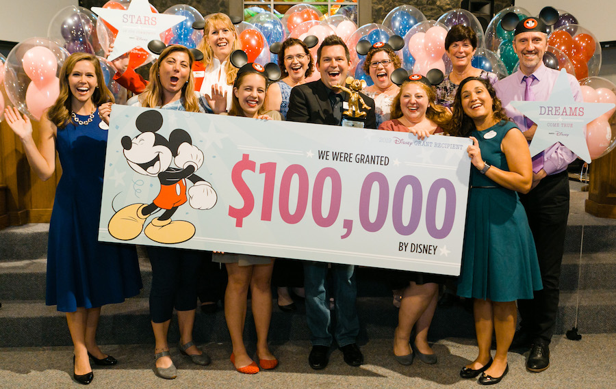 #FeelGoodFriday: Disney Serenades Central Florida Community Arts with Surprise $100,000 Donation to Help Bring Arts Program to Deserving Youth