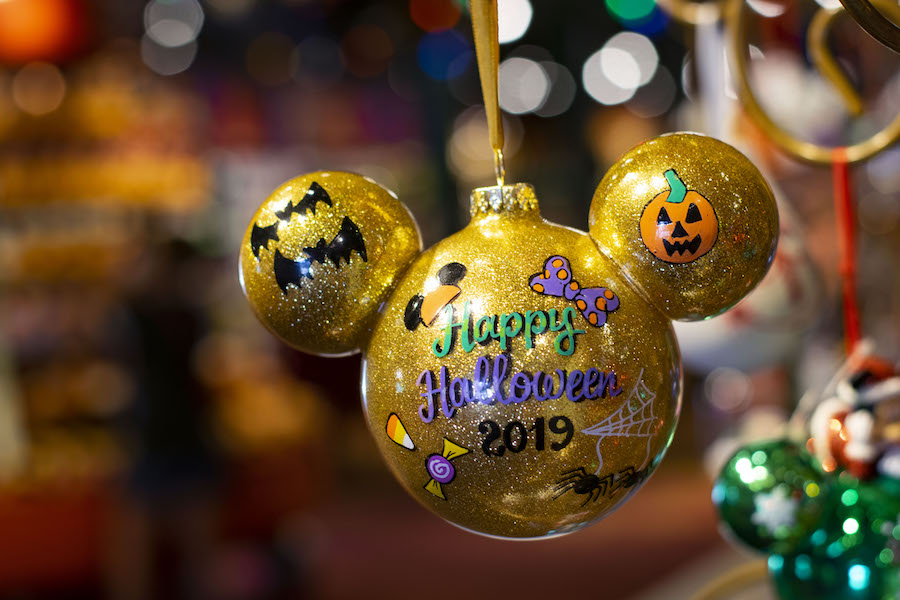 Halloween ornament from Disney Springs