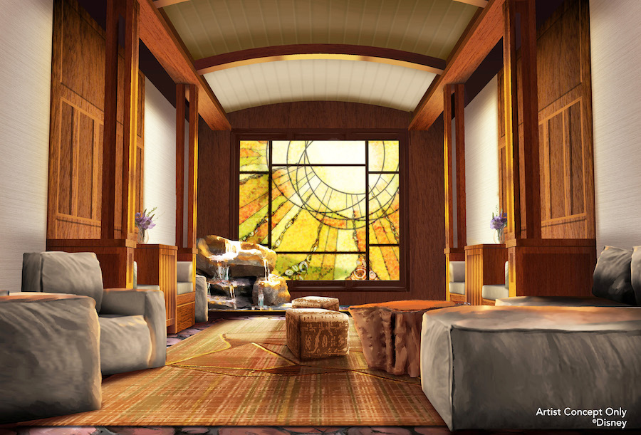 New Tenaya Stone Spa Coming to Disney's Grand Californian Hotel & Spa at Disneyland Resort