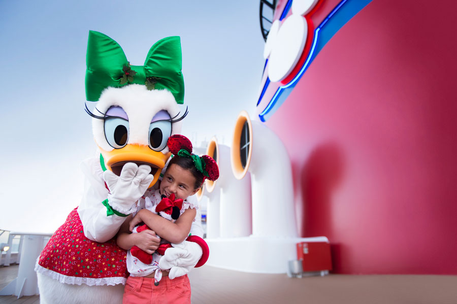Enter the Set Sail with Santa Sweepstakes for a Chance to Celebrate the Holidays at Sea with Disney Cruise Line