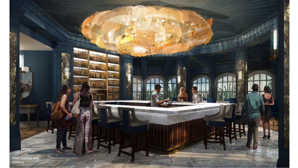More Details on Enchanted Rose – A New Lounge Coming to Disney's Grand Floridian Resort & Spa