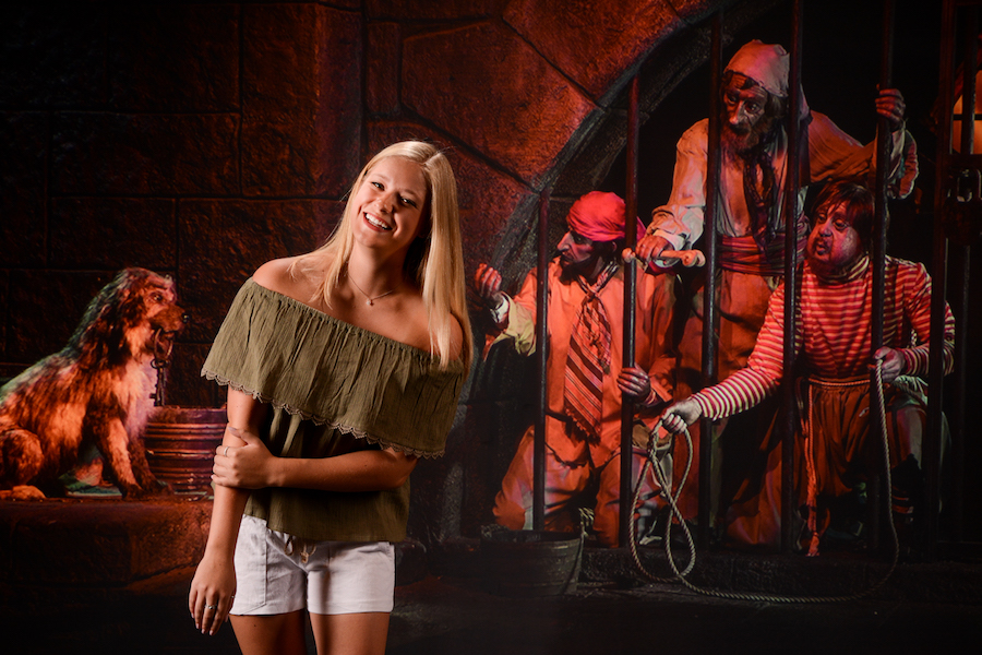 Disney PhotoPass Studio photos of Pirates of the Caribbean