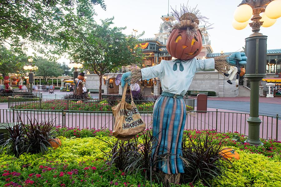 Scarecrows at Magic Kingdom Park