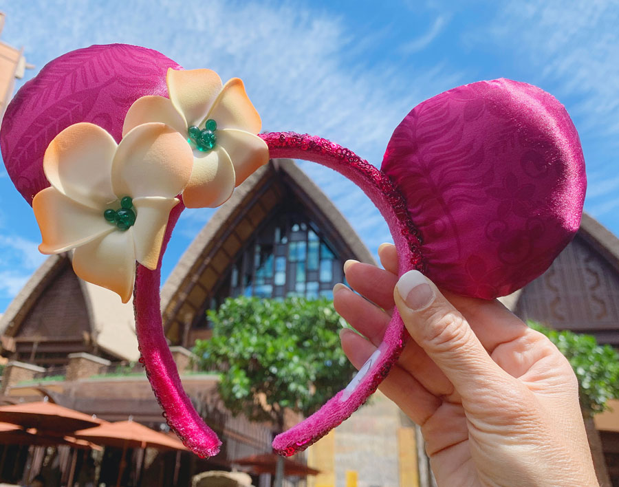 Ear headband from the new Aulani Resort Collection