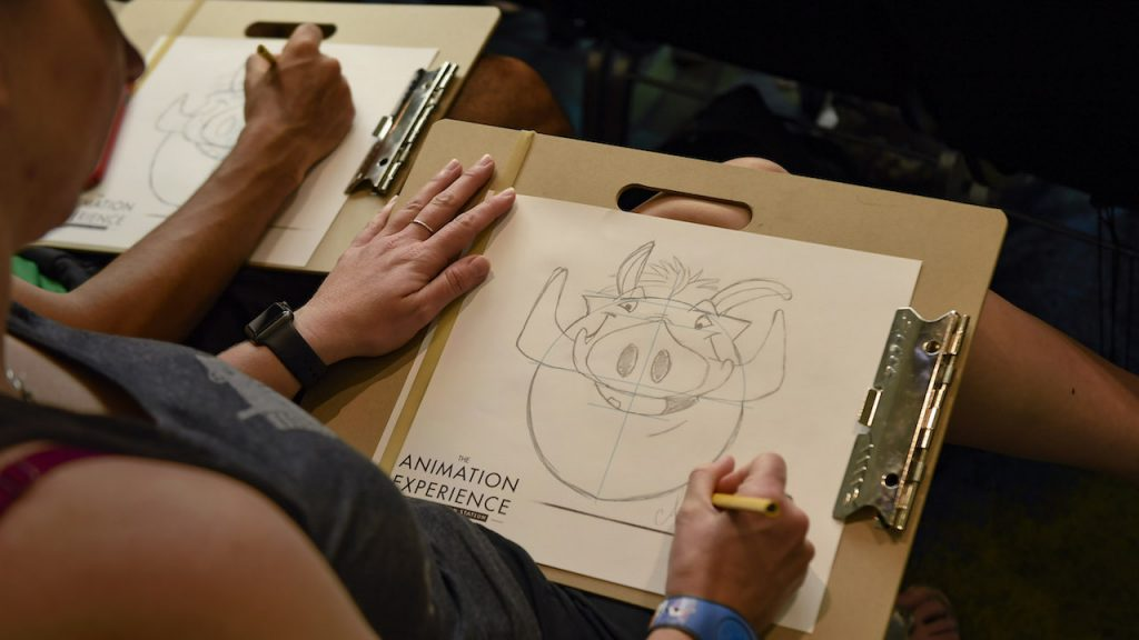 The Animation Experience at Conservation Station Now Features Animal 'Villain' Drawing Tutorials