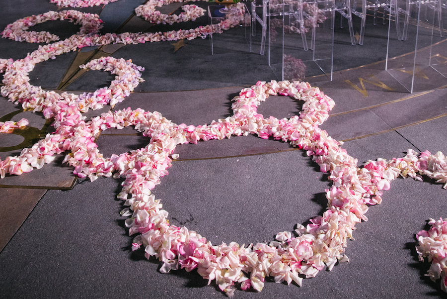 Hidden Mickey at a Disney Fairytale Wedding