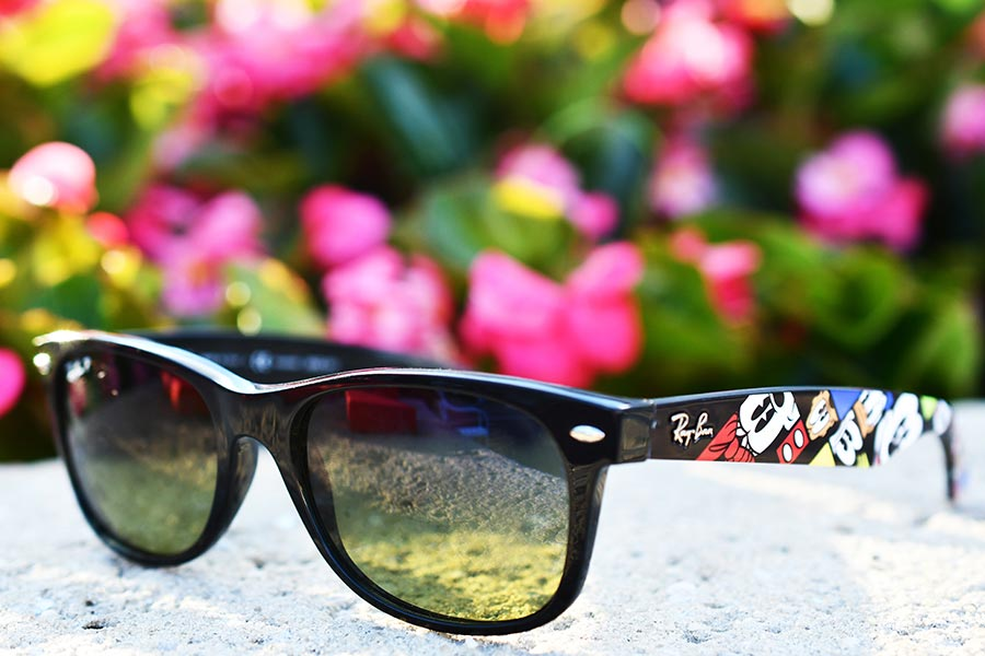 Disney Parks Guests Among the First to Check out the Latest Ray-Ban Sunglasses Featuring Mickey and Friends