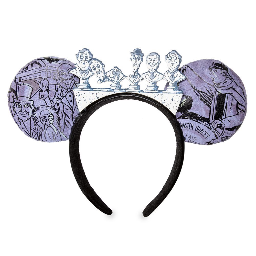 Glow-in-the-Dark Graveyard Ear Headband Inspired by the Haunted Mansion Now Available at Disney Parks