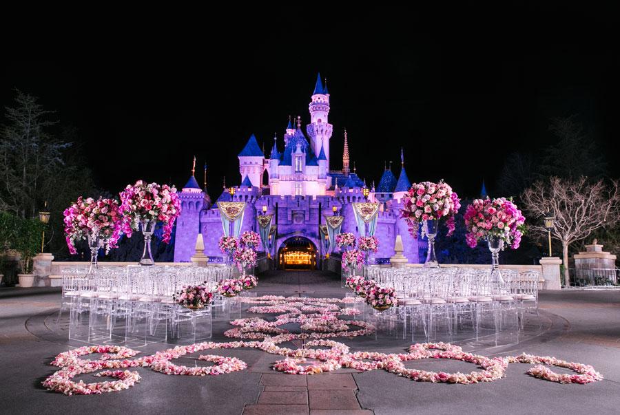 Disney's Fairy Tale Wedding at Disneyland park