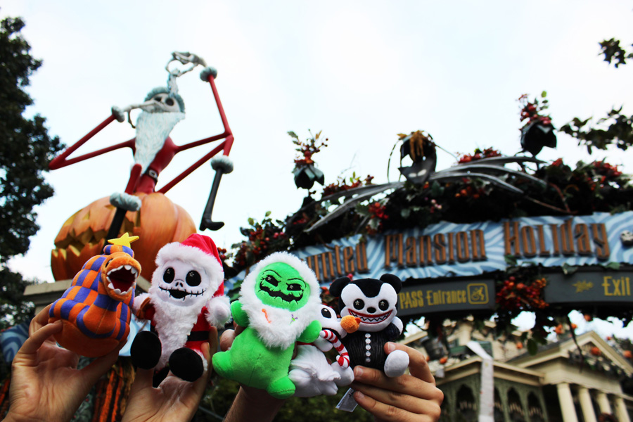 Oogie Boogie's Frightfully Festive in Newest Disney Parks Wishables Collection – Available Now