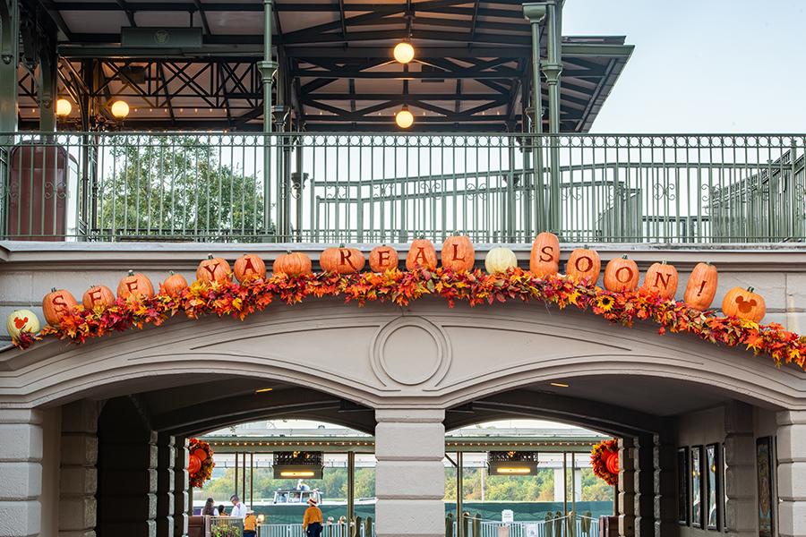 Halloween time at Magic Kingdom Park