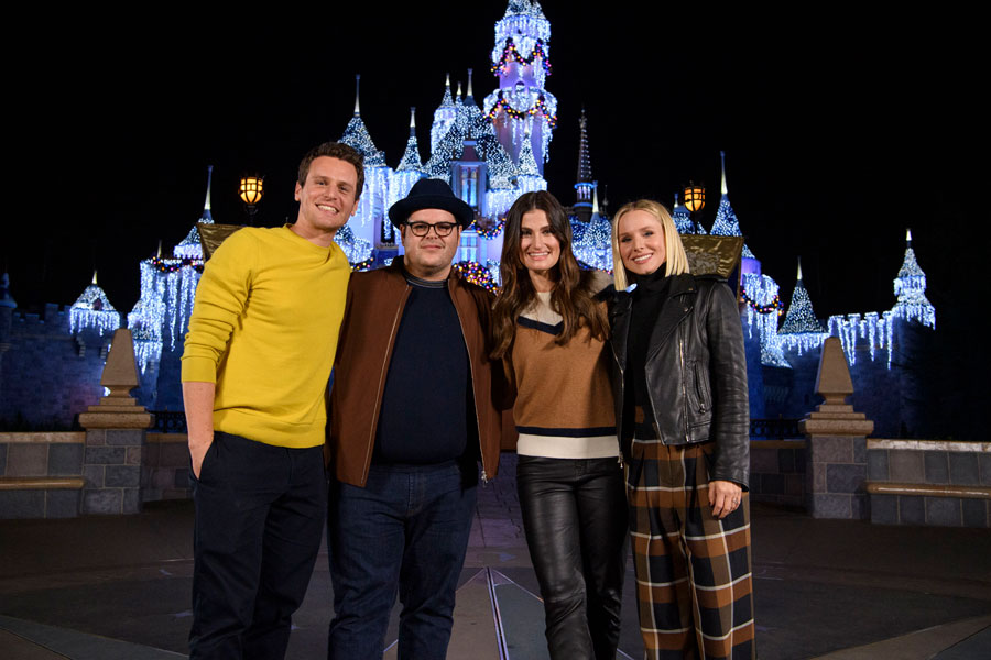 Cast of Disney's 'Frozen 2' Kicks Off the Holiday Season at Disneyland Resort