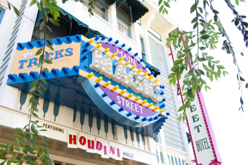 The Main Street Magic Shop at Disneyland has been a popular tenant at 102 East Main Street since 1957. © Disney