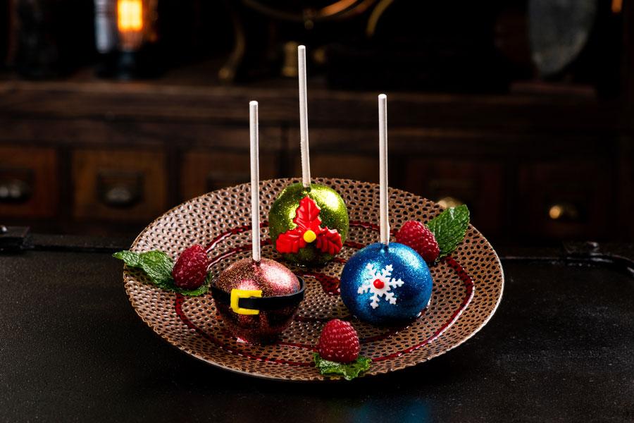 Jingle Bell Pops at Jock Lindsey's Holiday Bar at Disney Springs