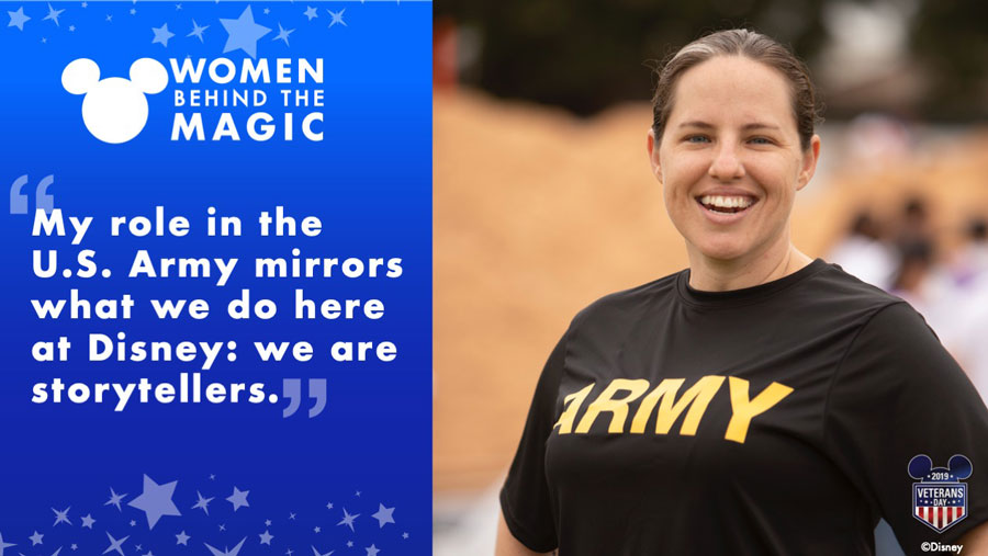 Women Behind the Magic: Disney's Inspiring Military Women Making a Difference