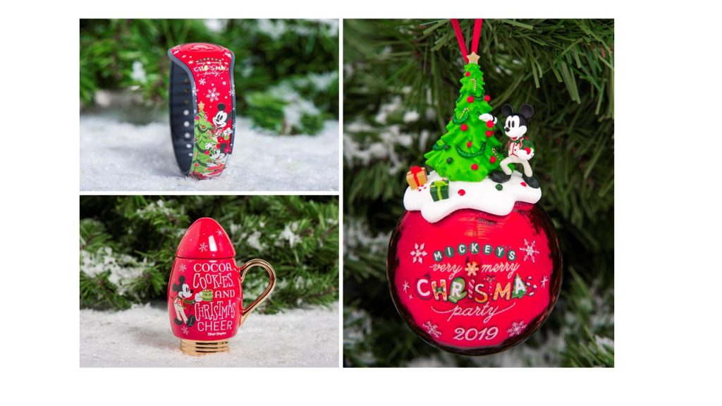 New Joyful Merchandise Available For Mickey's Very Merry Christmas Party