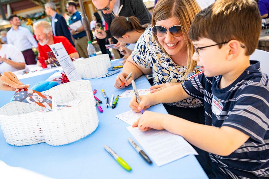 Family Volunteer Day at Disney Springs
