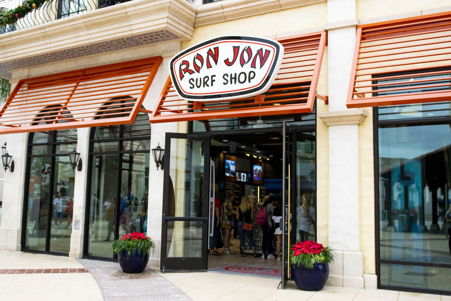 Ron Jon Surf Shop Now Open at Disney Springs