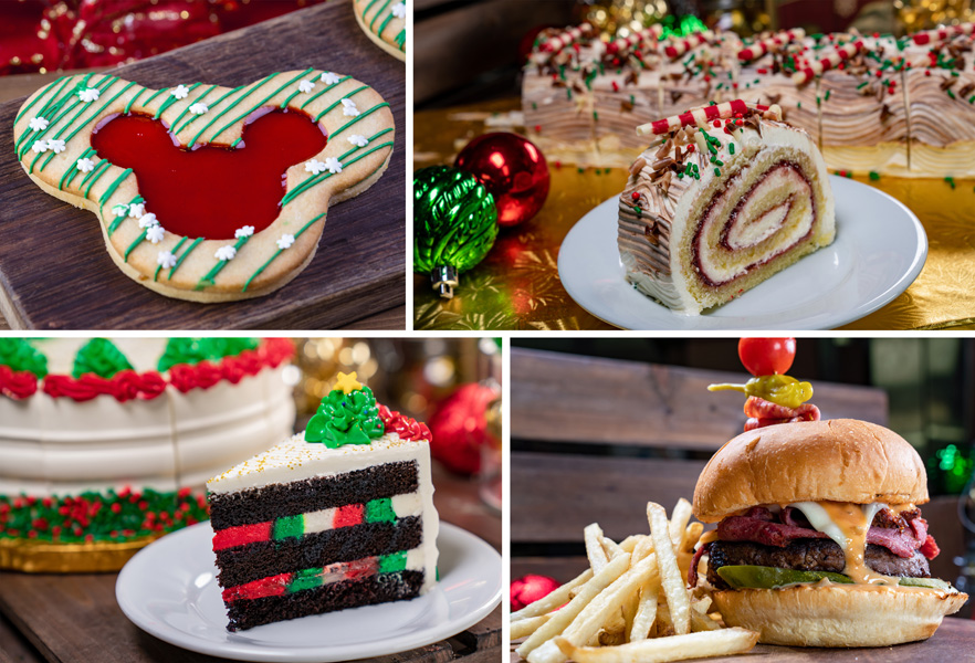 Collage of Special Offerings for Holidays 2019 at Disneyland Park