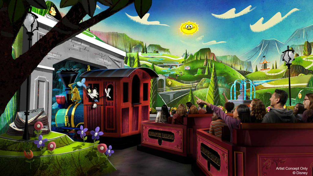 New Details, Dates Revealed for Upcoming Disney Parks Experiences, including Mickey & Minnie's Runaway Railway, Star Wars: Galactic Starcruiser