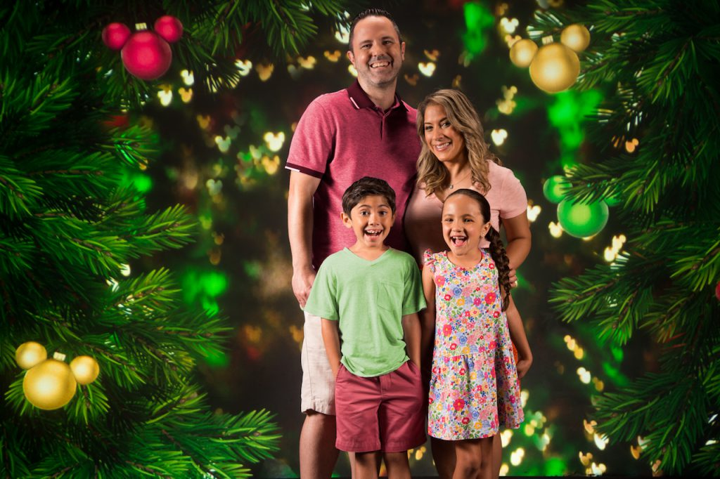 Holiday Photo Ops Available Now around Walt Disney World Resort