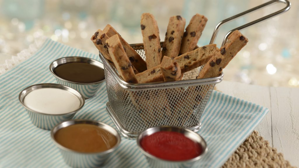 Plant-Based Cookie Fries from Beaches & Cream Soda Shop at Disney's Beach Club Resort